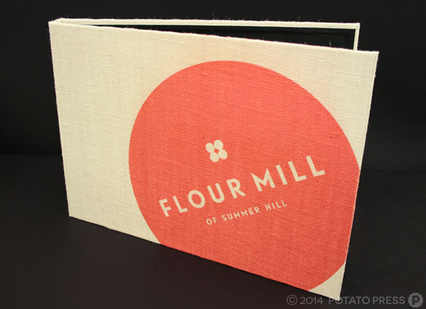 the-flour-mill-hessian-design-print-custom-international-brisbane-gold-coast-sydney-australia-bespoke-folio-folder-binding-book